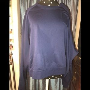 Nike plus size versa cropped sweater size 2x NWT